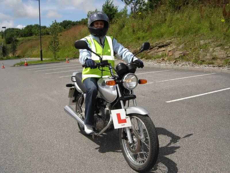 CBT on 125cc motorcycle